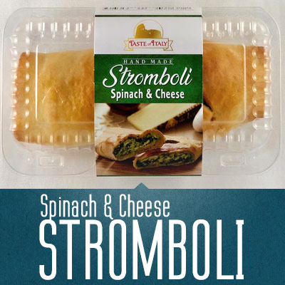 Spinach & Cheese Stromboli